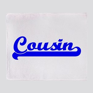 Cousin Throw Blanket
