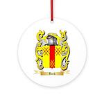 Bock Ornament (Round)
