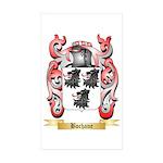 Bochane Sticker (Rectangle 50 pk)