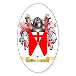 Boccanegra Sticker (Oval)