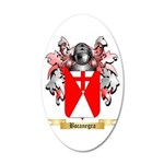 Bocanegra 20x12 Oval Wall Decal