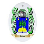 Bober Ornament (Oval)