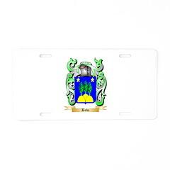 Bobe Aluminum License Plate