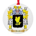 Boath Round Ornament