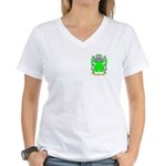 Boarer Women's V-Neck T-Shirt