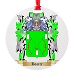 Boarer Round Ornament