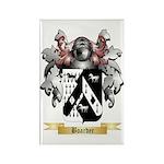 Boarder Rectangle Magnet (100 pack)