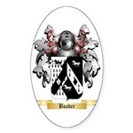 Boader Sticker (Oval 50 pk)