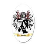 Boader 35x21 Oval Wall Decal