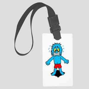 Panic Attack! Large Luggage Tag