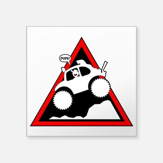 BAJA BUG JUMPING Danger Sticker