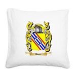 Boyer Square Canvas Pillow
