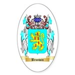 Brunwin Sticker (Oval 50 pk)