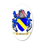 Bruyne 35x21 Oval Wall Decal