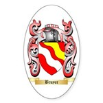 Bruyer Sticker (Oval 50 pk)