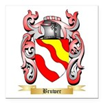 Bruwer Square Car Magnet 3