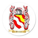 Bruwer Round Car Magnet