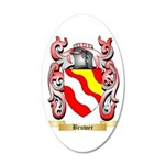 Bruwer 35x21 Oval Wall Decal