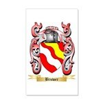 Bruwer 20x12 Wall Decal