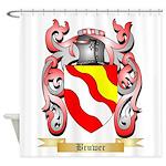 Bruwer Shower Curtain
