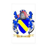 Bruun Sticker (Rectangle 50 pk)