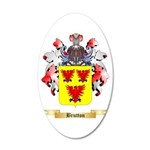 Brutton 20x12 Oval Wall Decal