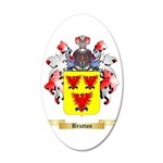 Brutton 35x21 Oval Wall Decal