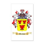 Brutton 20x12 Wall Decal