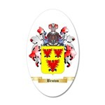 Bruton 20x12 Oval Wall Decal