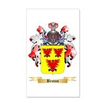 Bruton 20x12 Wall Decal