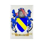 Brunke Rectangle Magnet (100 pack)