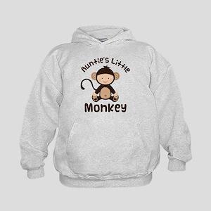 Auntie Monkey Kids Hoodie