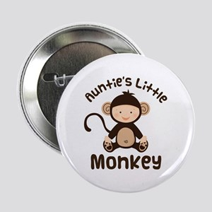 "Auntie Monkey 2.25"" Button"