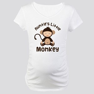 Auntie Monkey Maternity T-Shirt