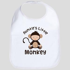 Auntie Monkey Bib