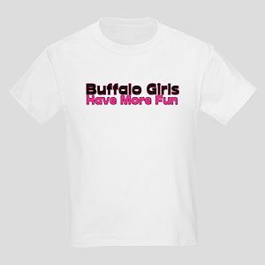 Buffalo Girls Have More Fun Kids T-Shirt