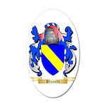 Brunetti 35x21 Oval Wall Decal