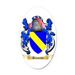 Bruneton Oval Car Magnet