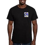 Brunet Men's Fitted T-Shirt (dark)