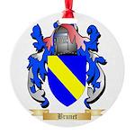 Brunet Round Ornament