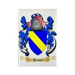Brunet Rectangle Magnet (100 pack)