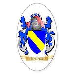 Brunesco Sticker (Oval 50 pk)