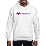 I Love Capitalism Hooded Sweatshirt