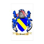 Brunel Sticker (Rectangle 50 pk)