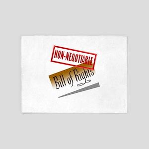Non-Negotiable 5'x7'Area Rug