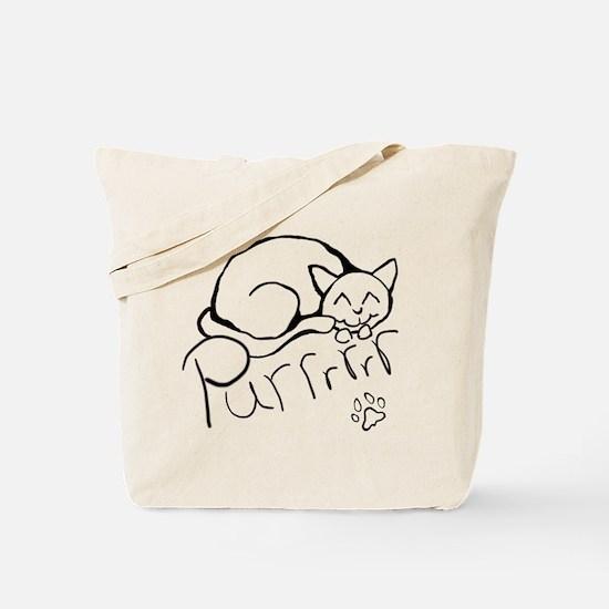 Purrrrrrrrr Tote Bag