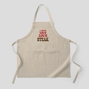 Love Love Steak Apron