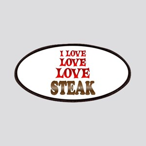 Love Love Steak Patches