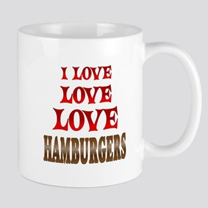 Love Love Hamburgers Mug