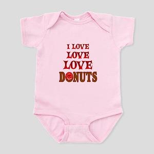 Love Love Donuts Infant Bodysuit
